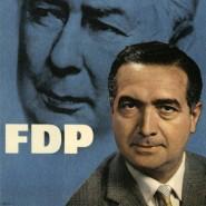 Wahlplakat zur Bundestagswahl 1961