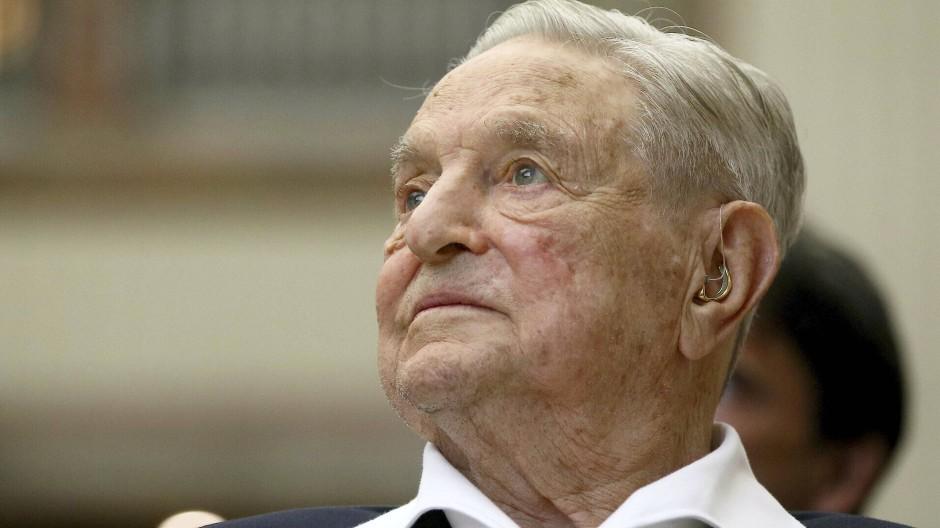 George Soros im Juni 2019 in Wien.