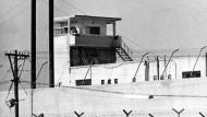 Blick auf das Gefängnis bei Ramla, in dem der NS-Kriegsverbrecher Adolf Eichmann inhaftiert war.