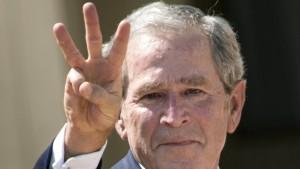 George W. Bush als Versager