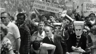 Demonstranten am 2. Juni 1967