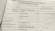 Einreisegesuch von Sigrid Schalck-Golodkowski im Mai 1987