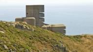 Insel Guernsey, MP4-Turm, auch L'Angle Tower genannt. Zwangsarbeiter bauten ihn ab 1940 für die deutschen Besatzer. Images courtesy of Visit Guernsey