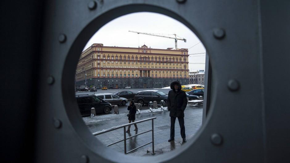 Das ehemailge Hauptgebäude des KGB.