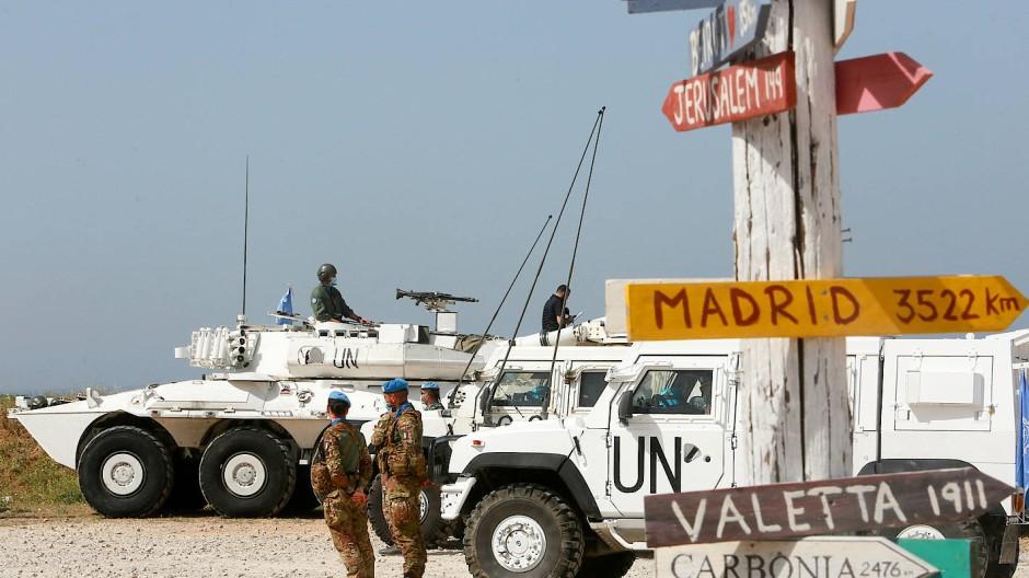 UN-Blauhelmsoldaten