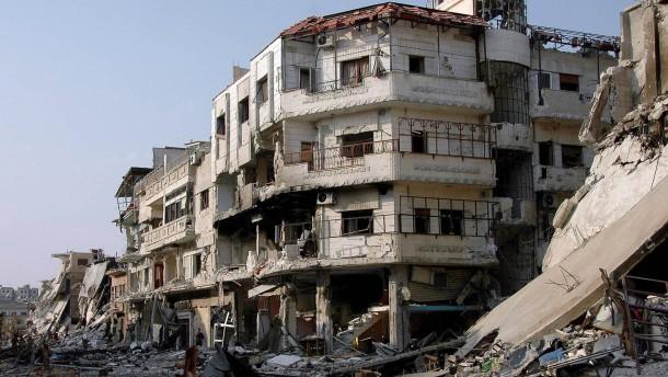 Syrische Führung zieht erste Bilanz der Zerstörung