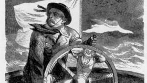 Steuermann und Wellenreiter