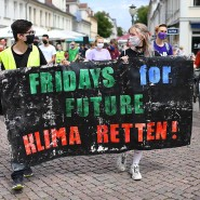 Fridays for Future Demonstration im Juli 2020 in Potsdam