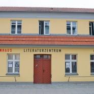 Das Koeppenhaus, aufgenommen am 19. Juni 2014 in Greifswald