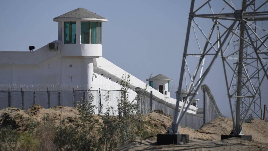 Haftanstalt für ethnische Minderheiten in Xinjiang im Mai 2019