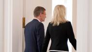 Christian Wulff und seine Frau Bettina 2012