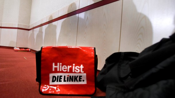 """Die sechs Landtagsabgeordneten der Partei """"Die Linke"""" stellen sich vor."""