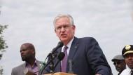 Dank seines Eingreifens beruhigte sich Lage in Ferguson zeitweise: Missouris Gouverneur Jay Nixon