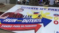 Präsidentenwahl auf den Philippinen