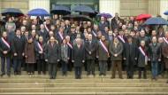 Nationalversammlung singt nach Schweigeminute die Marseillaise