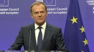 Tusk bestürzt von Brexit-Referendum