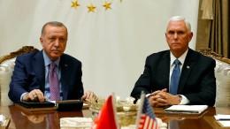 Türkei und Vereinigte Staaten vereinbaren fünftägige Waffenruhe in Nordsyrien