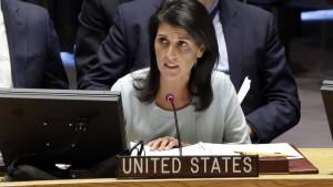 Amerikanische UN-Botschafterin kritisiert Russland
