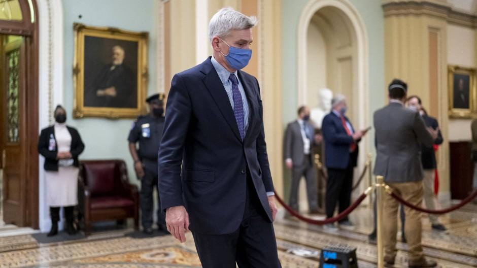 Bill Cassidy am Samstag in Washington