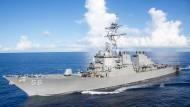 """Machtdemonstration: Wie die """"USS Cook"""" ist die """"USS John S. McCain"""" ein Lenkwaffenzerstörer für Einsätze in spannungsreichen Seegebieten"""