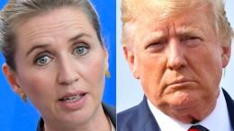 Trump sagt Treffen mit dänischer Regierungschefin ab