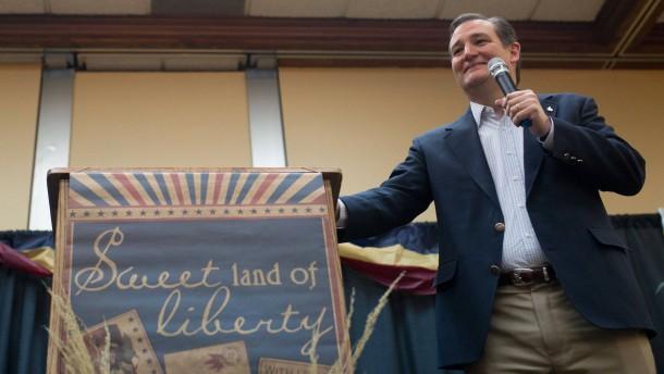Cruz gewinnt in Wyoming