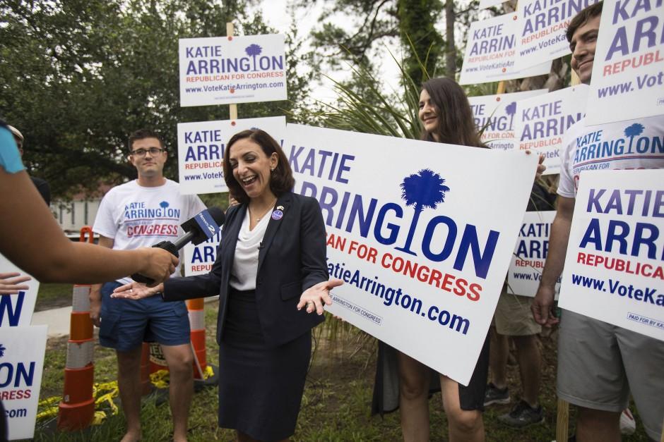 """""""Wir sind die Partei von Donald J. Trump"""": Katie Arrington freut sich über ihren Wahlerfolg"""