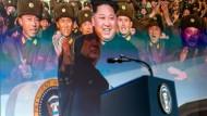 Im Film vereint: Trump und Kim