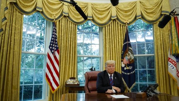 Eine Präsidentschaft im Nervenzusammenbruch