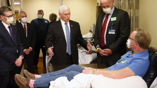 Vizepräsident Pence ignoriert Maskenpflicht