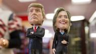 Alle richten sich auf ein Duell Clinton gegen Trump ein.