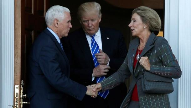 Eine Lobbyistin für Trumps Team