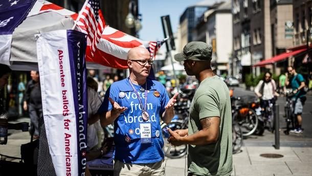 Auslandsamerikaner sollen wählen