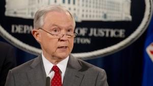 Sessions geht gegen Informanten vor
