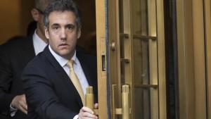 """Cohen ruft zur Wahl gegen """"Verrücktheit"""" Trumps auf"""