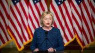 Was passiert, sollte Hillary Clinton aus dem Präsidentschaftsrennen ausscheiden? Niemand weiß es genau.