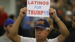 Retten die Latinos Donald Trump?
