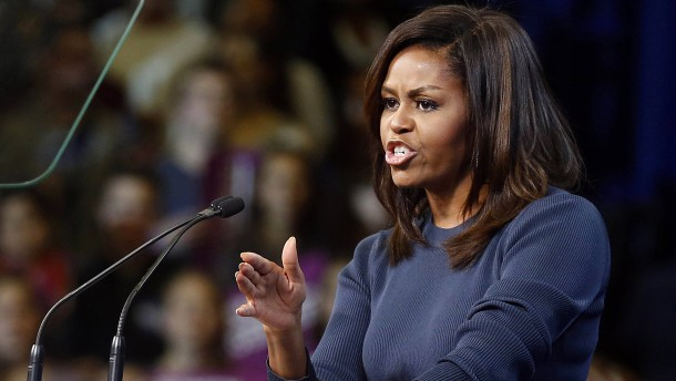 Michelle gegen Donald
