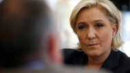 Die Rechtspopulistin Marine Le Pen am Tag nach der TV-Debatte