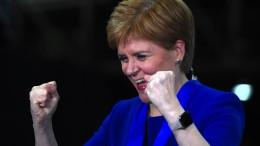 Sturgeon fordert neues Referendum