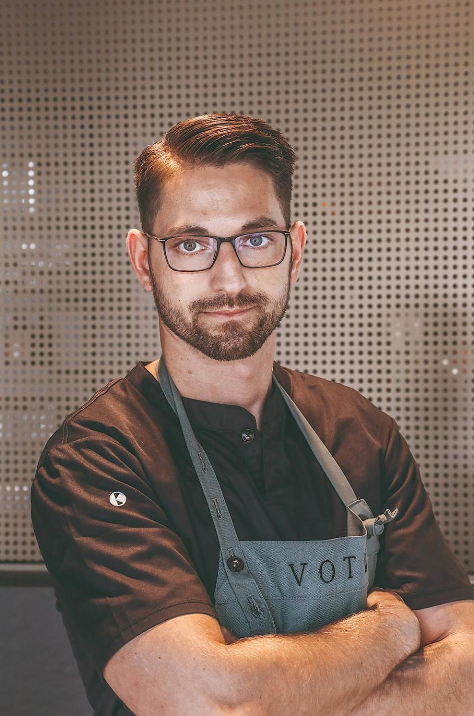 Er hat in Hannover eine neue Heimat gefunden: der Koch Benjamin Gallein.