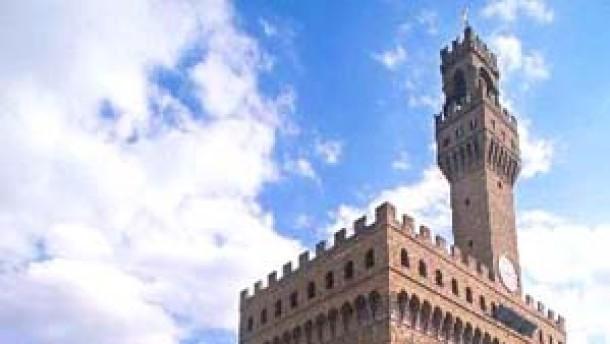 Italien gemäldegalerie über den dächern von florenz