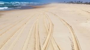 Spuren wechseln in Dakar