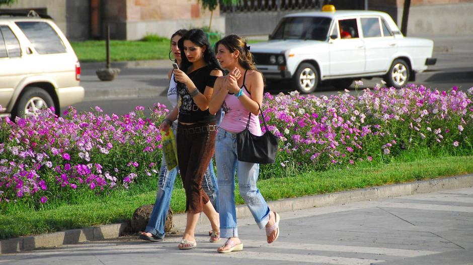 Reise In Den Kaukasus Staat Armenien