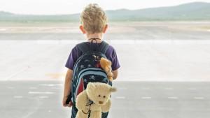 Aber der Teddy fliegt umsonst?