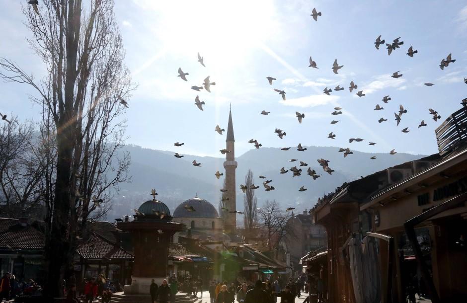 Ein Bogen durch Zeit und Raum, ganz tief hinein ins Osmanische Reich: Im alten Teil der Stadt.