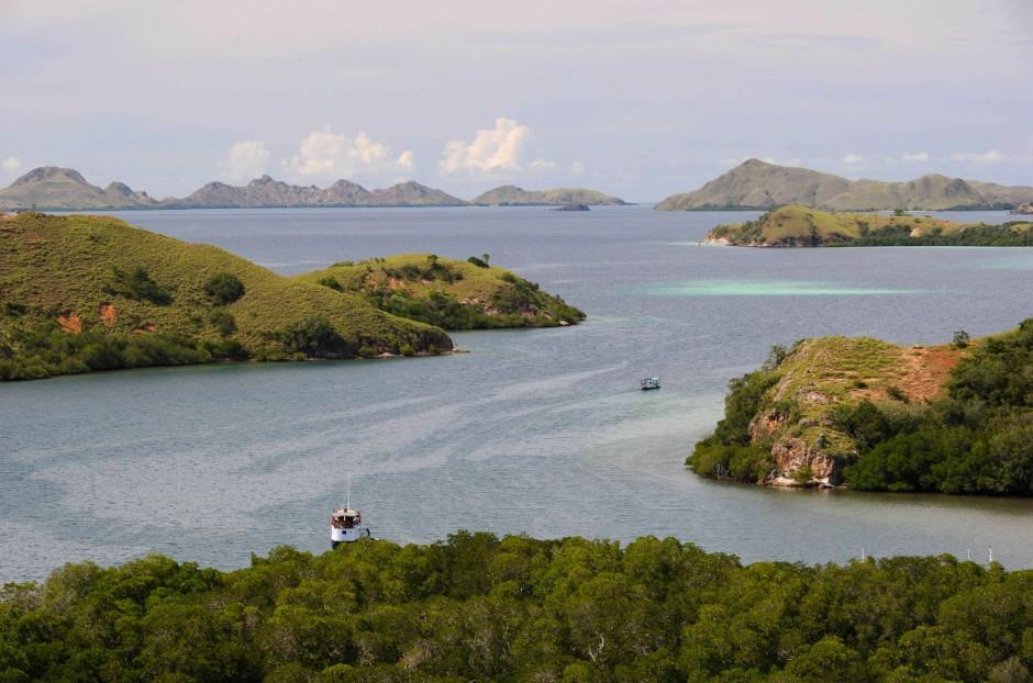 Idyllische Inselwelt mit mordlustigen Bewohnern: der Komodo-Nationalpark im Osten Indonesiens.