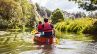 Nur mit der Ruhe: Willkommen auf Bayerns langsamstem Fluß.