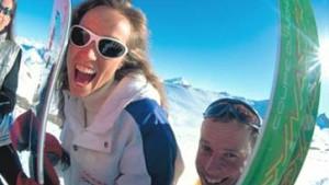 Ole im Schnee - Skifahren in Spanien