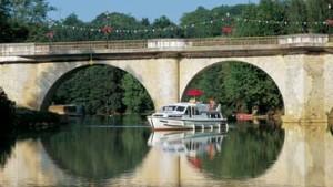 Mit dem Hausboot durch Frankreich